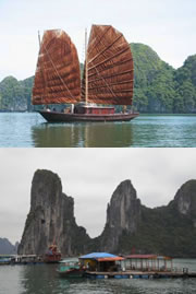 Ha Long Bay Cruise Tour - Ha Long Bay Junk Cruise