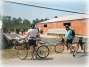 Cycling in the Mekong Delta